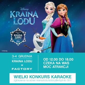Mikołajkowy konkurs karaoke w Krainie Lodu