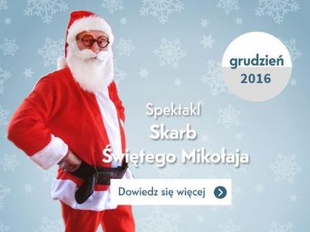 Skarb Św. Mikołaja – spektakl dla dzieci