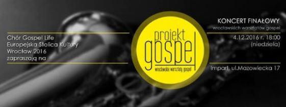 """Koncert finałowy """"Projektu Gospel"""" w Imparcie"""