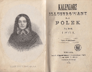 Kalendarz Ilustrowany dla Polek na rok 1861