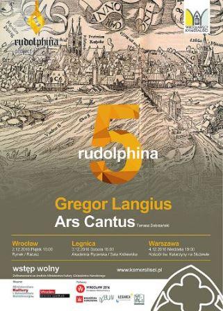 Rudolphina 5 – koncert Ars Cantus w Ratuszu
