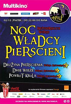 ENEMEF: Noc reżyserskich wersji Władcy Pierścieni