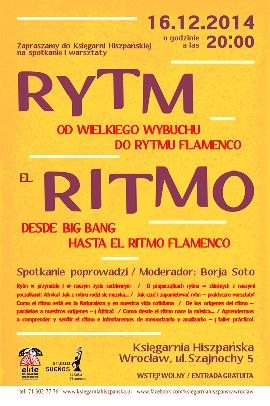EL RITMO - Od Wielkiego Wybuchu do rytmów flamenco