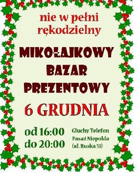 Mikołajkowy Bazar Prezentowy