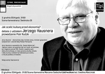 Magiel obywatelski z udziałem Jerzego Hausnera