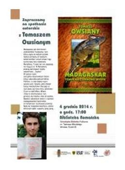 Spotkanie autorskie - Tomasz Owsiany