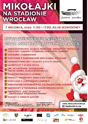 Mikołajki na Stadionie Wrocław