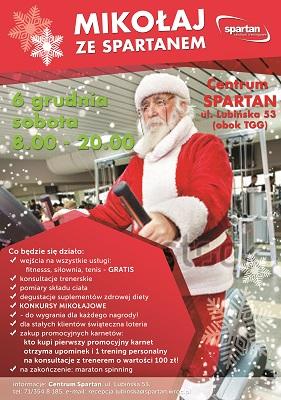 Dni Otwarte z Mikołajem w Spartanie