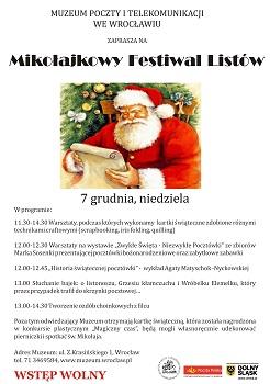 Mikołajkowy Festiwal Listów