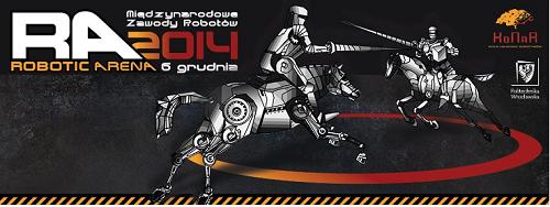 Robotic Arena 2014 na Politechnice wrocławskiej