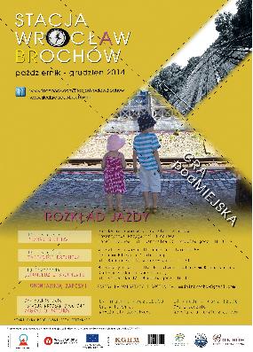 """Stacja Wrocław Brochów. Gra podMiejska \"""" data-mce-src="""