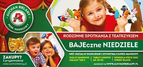 """Spektakl: """"Zimowe przygody Krysi Kaprysi"""" w Auchan Bielany"""