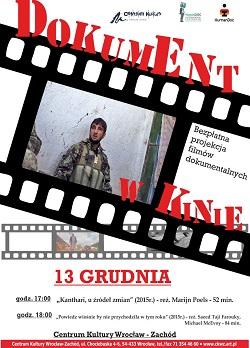 Bezpłatny pokaz  filmów dokumentalnych