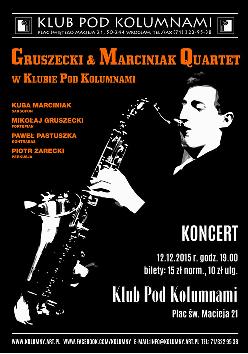 Koncert Gruszecki&Marciniak Quartet