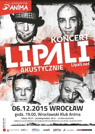 Koncert LIPALI (akustyczny)