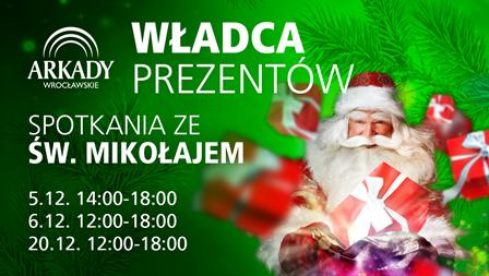 Mikołajki w Arkadach Wrocławskich