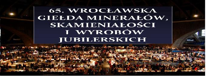 Giełda minerałów w Hali Stulecia