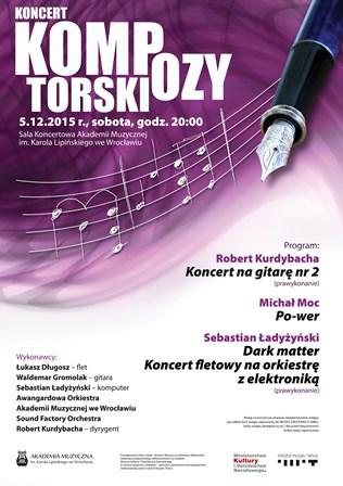 Koncert Kompozytorski w Akademii Muzycznej