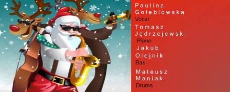 Muzyczne mikołajki w rytmie swinga w Mleczarni