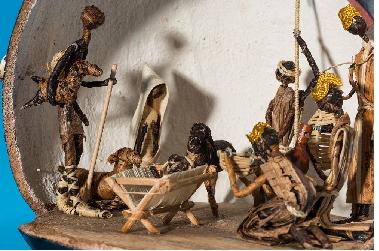 """Wystawa """"Przybieżeli do Betlejem. Szopki bożonarodzeniowe z całego świata"""