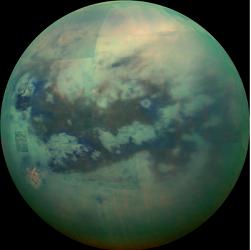 """""""Tytan – tajemniczy księżyc"""" wykładu z cyklu """"Spotkania u astronomów"""""""