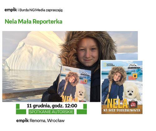 Nela Mała Reporterka w Empiku