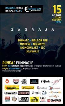 Emergenza Festival 2016/2017– eliminacje