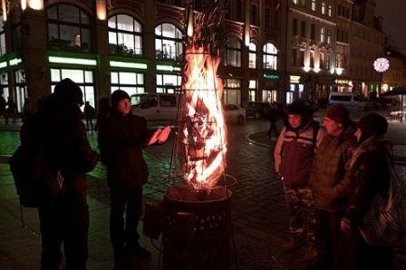 Wrocław rozgrzewa...przy koksownikach