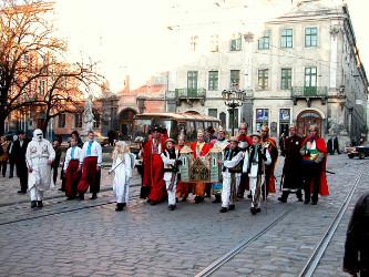 Parada Kolędników ze Lwowa
