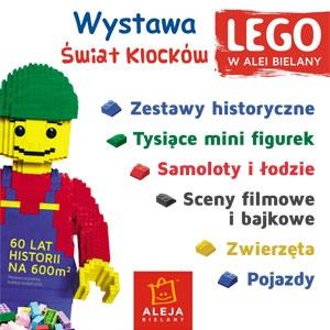 Wystawa LEGO® w Alei Bielany