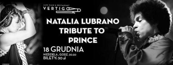 Natalia Lubrano – Tribute to Prince