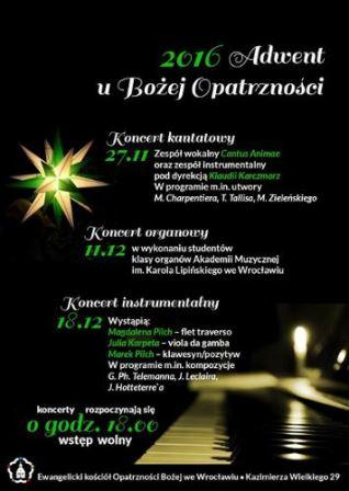 Adwentowy koncert instrumentalny