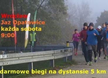 Bieg parkrun Wrocław