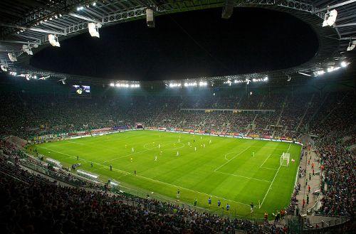 Zwiedzania na Stadionie Wrocław