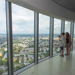 Taras widokowy w Sky Tower