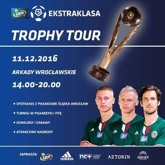 Trophy Tour w Arkadach Wrocławskie