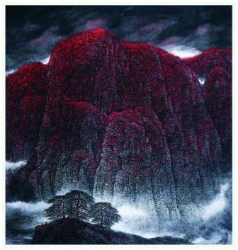 Dzień wokół wystawy malarstwa chińskiego i wykłady w Muzeum Narodowym