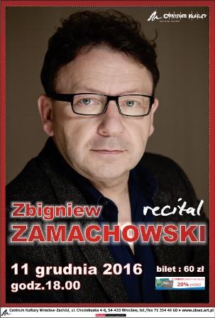 Recital Zbyszka Zamachowskiego