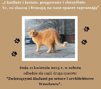 Zwierzęcymi śladami po sztuce i architekturze Wrocławia
