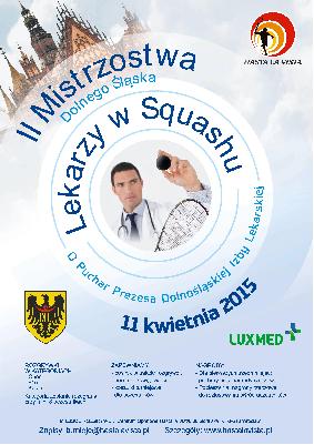 II mistrzostwa Dolnego Śląska lekarzy w squashu