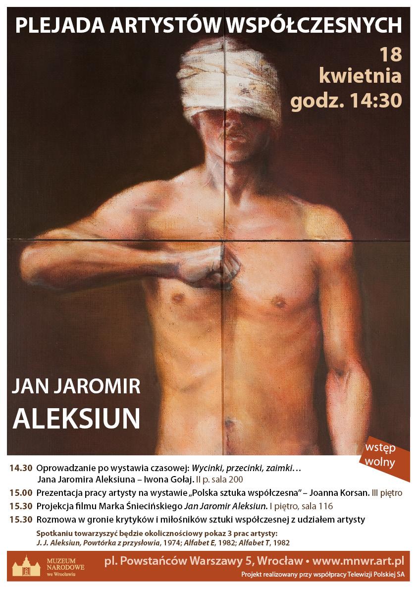 Plejada artystów współczesnych - Jan Jaromir Aleksiun