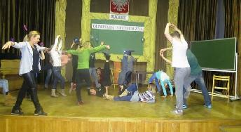 Zderzenia I – pokaz finałowy warsztatów teatralnych