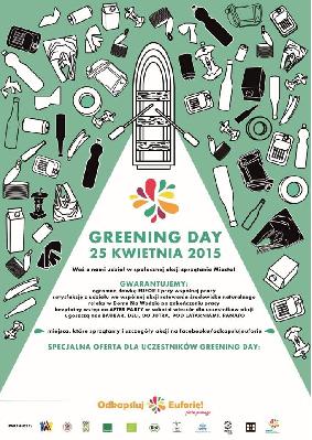 Greening Day czyli sprzątanie miasta