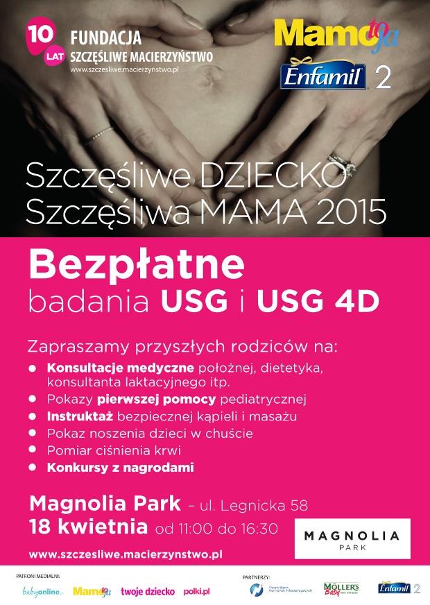 Darmowe badanie USG 4D dla przyszłych mam w Magnolia Park