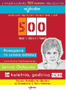 Spotkanie z Janiną Ochojską