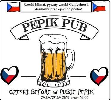 Czeski BEFORE w nowym pubie Pepik