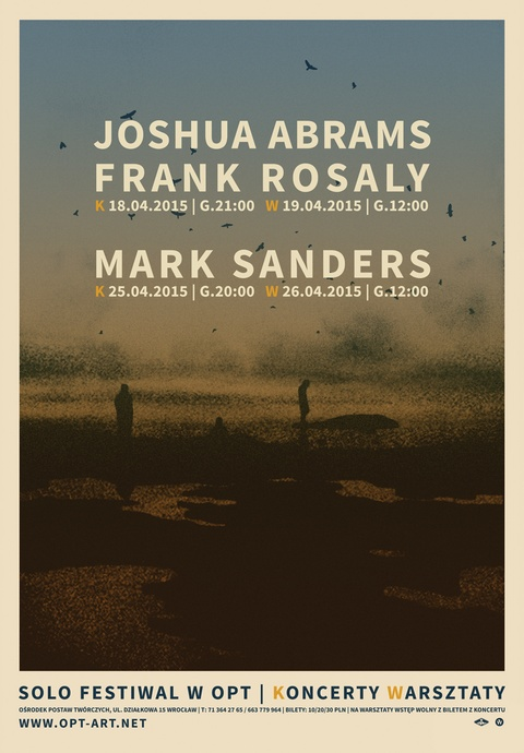 Joshua Abrams, Frank Rosaly/ 2. Solo Festiwal
