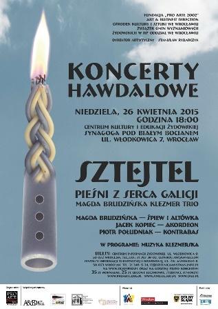 Kwietniowy Koncert Hawdalowy
