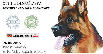 XVIII Dolnośląska Wystawa Owczarków Niemieckich we Wrocławiu