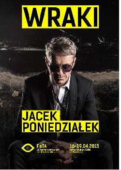 Jacek Poniedziałek w spektaklu Wraki
